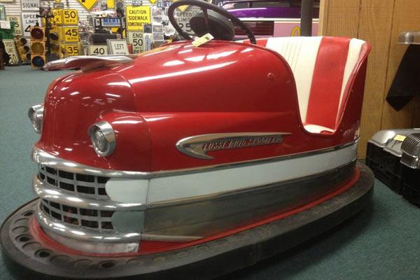 Beston vintage bumper cars for sale cheap