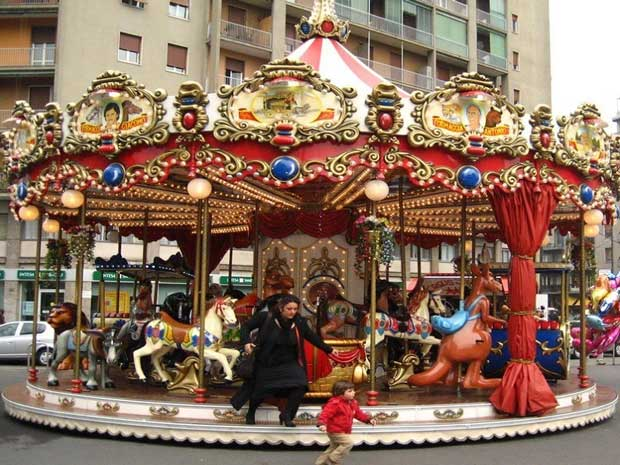 carousels fairground for sale