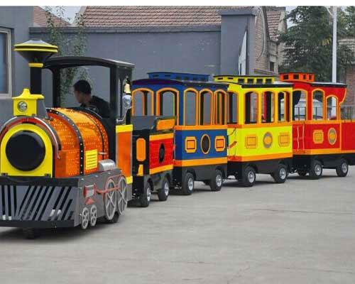 Yard Mall Trackless Train Ride