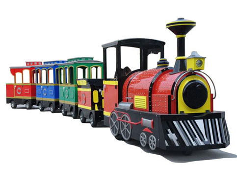 Diesel And Electric Trackless Amusement Train