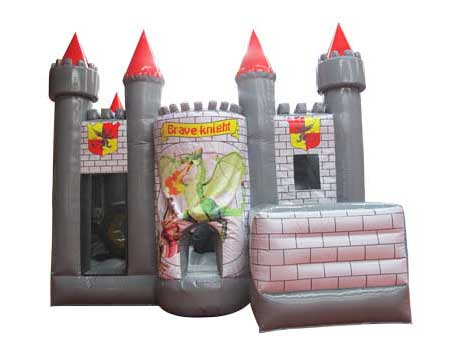 Brave knight bounce house