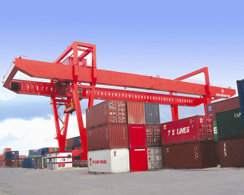 Ellsen high quality container port gantry crane for sale