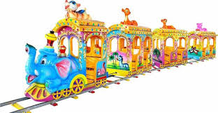 Amusement Train with Track