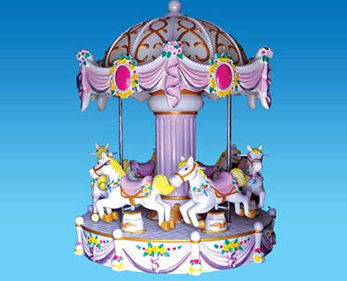 coin operated carousel rides
