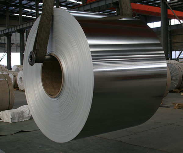 Aluminum Roll in Production