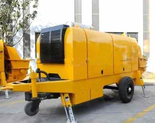 Hot sale concrete trailer pump