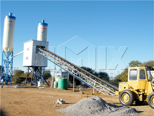 Automatic Concrete Mixing Batching Plant Price